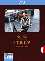Blu-ray / Атлас Дискавери: Италия / Discovery Atlas: Italy Revealed