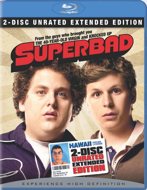 SuperПерцы / Superbad (Грег Моттола / Greg Mottola) [2007, США, комедия, BDRip 1080p] [Расширенная версия / Unrated Extended Edition]