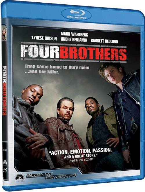 Кровь за кровь / Four Brothers (2005) BDRip 1080p