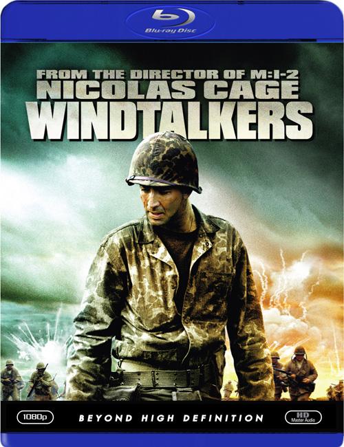 Говорящие с ветром / Windtalkers (2002) Blu-Ray